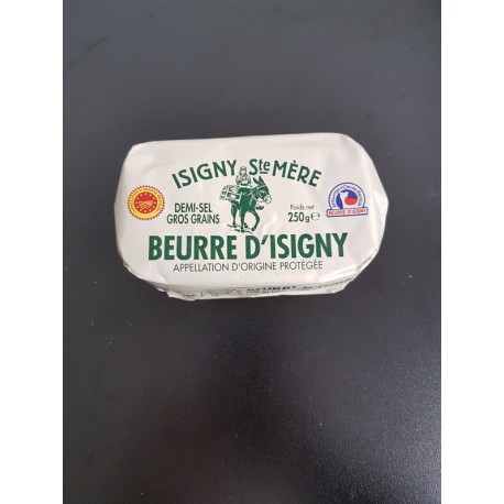 Beurre d'Isigny demi-sel 250g