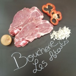 Côte de porc dans l'échine