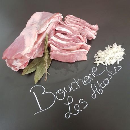 Poitrine d'agneau